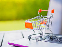 Shopping Online Concept : Royalty Free Stock Image