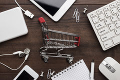 Shopping online concept Royalty Free Stock Photography