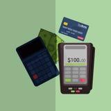 Shopping online design Royalty Free Stock Image