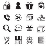 Shopping online icons vector illustration