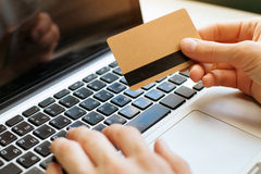 Shopping online Stock Images