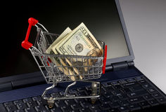 Shopping Online. Royalty Free Stock Photography