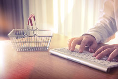 Shopping online. Royalty Free Stock Image