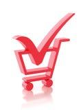 Shopping option Stock Photography