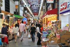 Shopping in Osaka, Japan Stock Images
