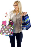 Shopping - Overspending stock photo