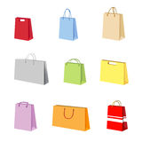 Shopping package vector Stock Photos