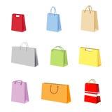 Shopping package vector Stock Photos