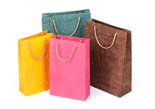 Shopping packages Royalty Free Stock Photography