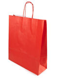 Shopping paper bag Stock Photo