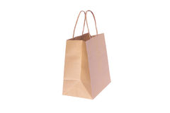Shopping paper bag Royalty Free Stock Image