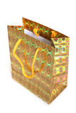 Shopping paper bag for gifts Royalty Free Stock Photos