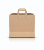 Shopping paper bag Stock Photo