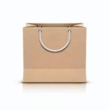 Shopping paper bag Stock Image