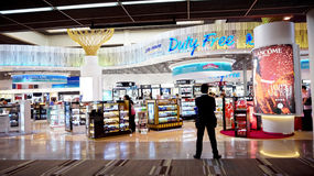 Shopping paradise, Thailand airport duty free Stock Images
