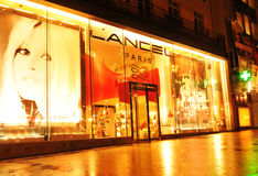 Shopping in Paris Royalty Free Stock Photography