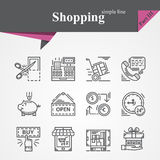 Shopping Part III Stock Images