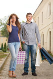 Shopping pause Royalty Free Stock Image