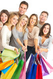 Shopping people Royalty Free Stock Photography