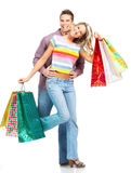 Shopping people Royalty Free Stock Photos