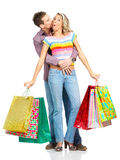 Shopping people Stock Photography