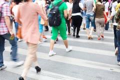 Shopping people walking Stock Photos