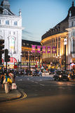 Shopping at Piccadilly Circus, London Royalty Free Stock Photos