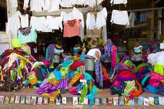 Shopping in Playa del Carmen, Mexico. Quintana Roo in Playa del Carmen, Mexico Royalty Free Stock Images