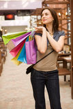 Shopping with pleasure Royalty Free Stock Image