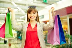Shopping pleasure Stock Photography