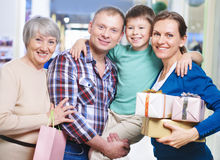 After shopping Royalty Free Stock Photos