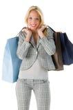 Shopping pretty woman Royalty Free Stock Photo