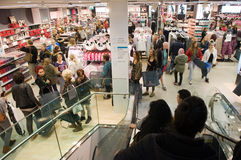 Shopping at Primark Stock Photography