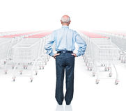 Shopping problem Royalty Free Stock Photo