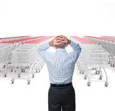 Shopping problem Stock Photos