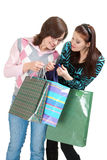 Shopping process Stock Photos