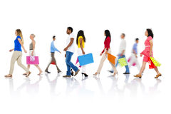 Shopping Purchase Retail Customer Consumer Sale Concept Royalty Free Stock Images