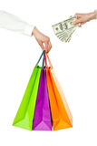 Shopping/purchasing/buying concept Stock Photo