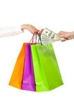 Shopping/purchasing/buying concept Royalty Free Stock Images
