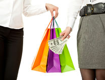 Shopping/purchasing/buying concept Royalty Free Stock Photography