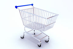 Shopping Push Cart Stock Photos