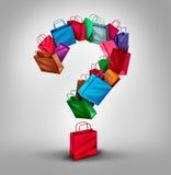 Shopping Question Stock Photos