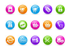 Shopping // Rainbow Series Royalty Free Stock Image