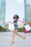 Shopping rapture Royalty Free Stock Image