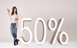 Shopping rebate Royalty Free Stock Image