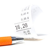 Shopping Receipt Stock Images