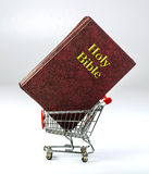 Shopping for Religion. Stock Photo