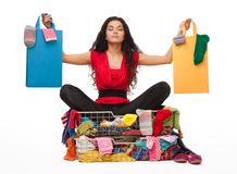 Shopping relive Royalty Free Stock Images