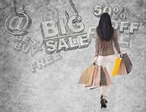 Shopping risk Royalty Free Stock Photo