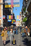 Shopping Rome Italy Winter Christmas Time Stock Image